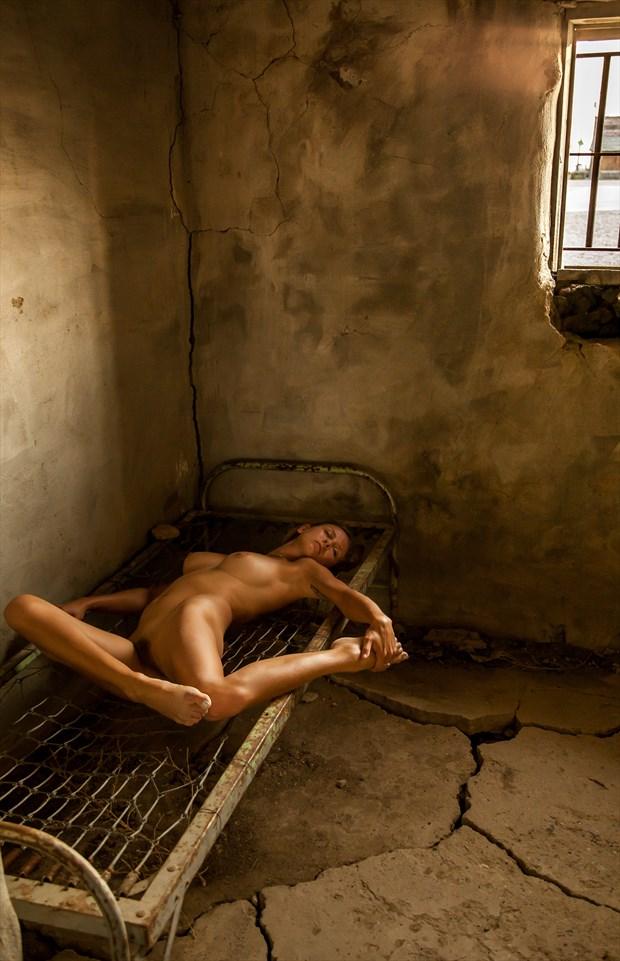 !880s Cowboy Jail   South Dakota Artistic Nude Photo by Photographer Risen Phoenix