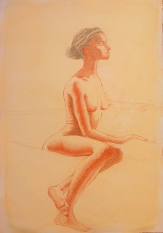 %22A July Afternoon%22 Artistic Nude Artwork by Artist Little Sodus Studio