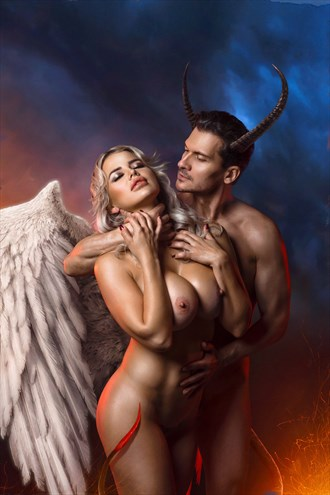 %22Angels and Demons: Part 3%22 Artistic Nude Photo by Artist Stanislav Star