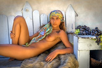%22Auric%22 Artistic Nude Photo by Model Tre and Christina