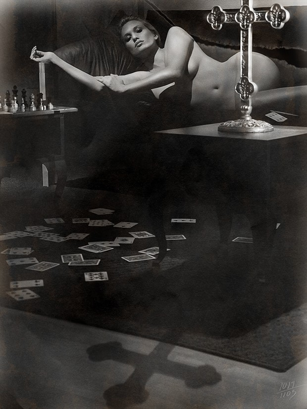%22FORSAKEN GAMES IN THE LIGHT OF ONE TRUTH%22 Artistic Nude Photo by Artist Jeffery Scott (1019)