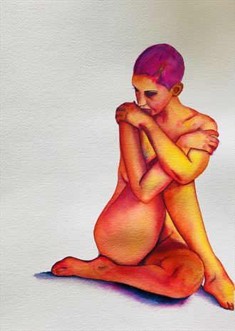 %22Nude no. 13%22 Artistic Nude Artwork by Artist jennchurch