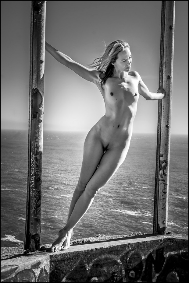 %22Nudes in Abandoned Spaces%22   Arielle Artistic Nude Photo by Photographer J Photoart