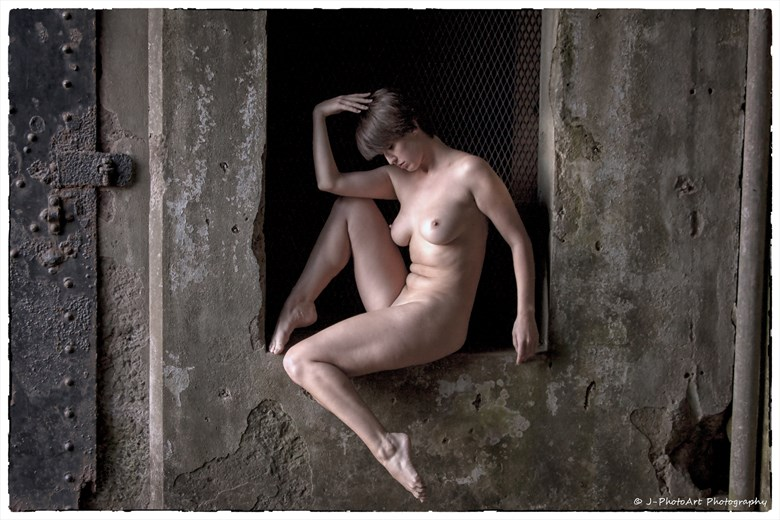 %22Nudes in Abandoned Spaces%22   Nymph Artistic Nude Photo by Photographer J Photoart