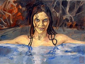 %2328 Expressive Portrait Artwork by Artist Richard White