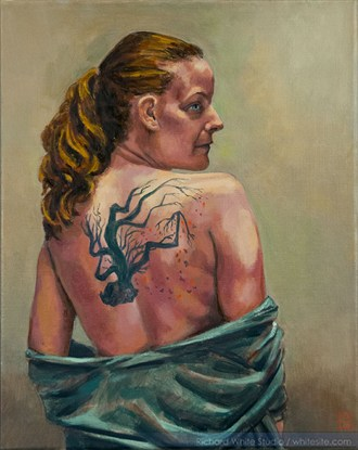 %2370 Figure Study Artwork by Artist Richard White