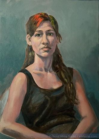%2376 Expressive Portrait Artwork by Artist Richard White