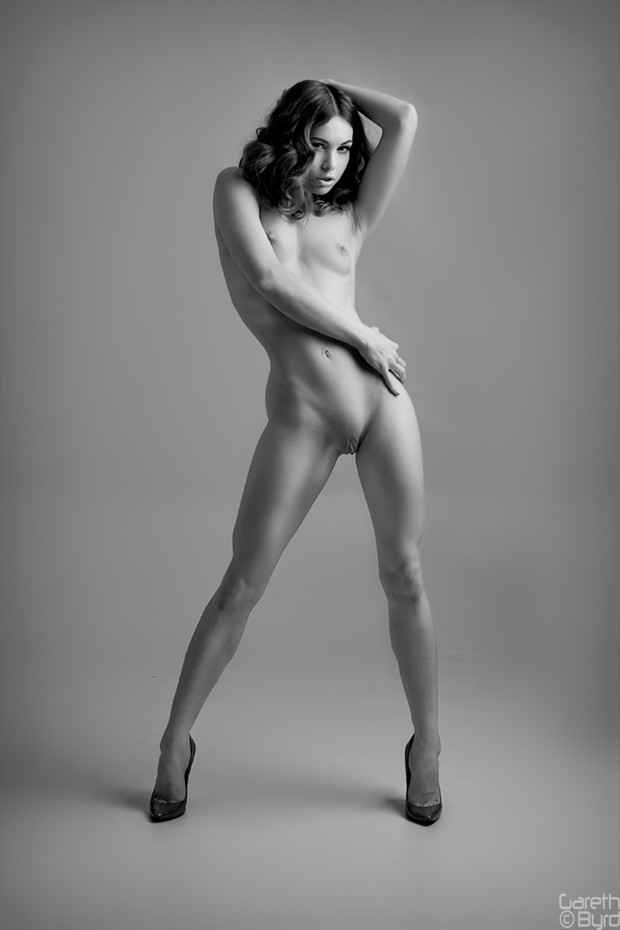 %C2%A9 Gareth Byrd Artistic Nude Photo by Model Fawnya