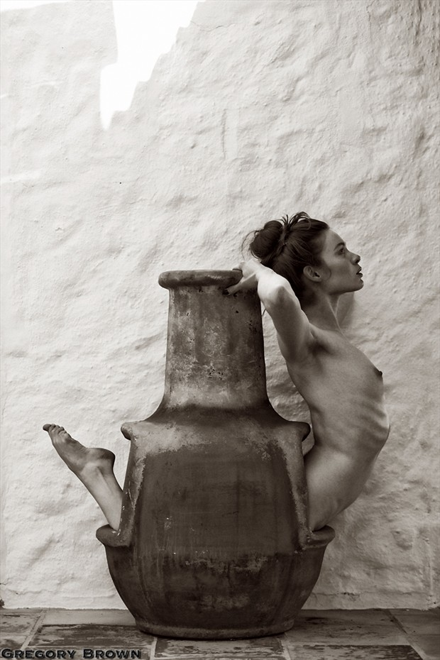 %C2%A9 Gregory Brown Artistic Nude Photo by Model Fawnya