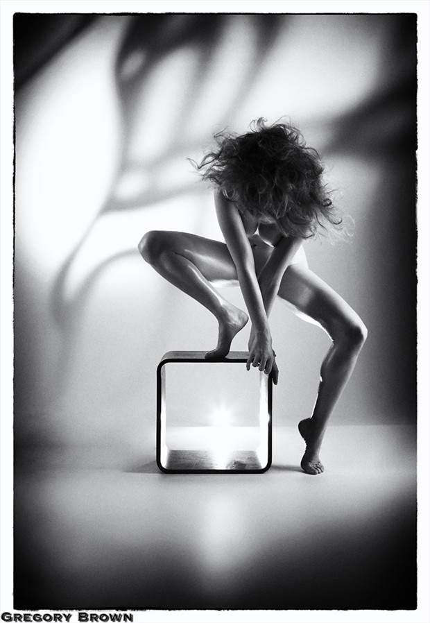 %C2%A9 Gregory Brown Artistic Nude Photo by Model Romahni
