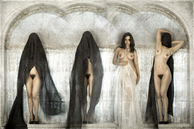 %E2%80%9Cthe heaven and her virgins%E2%80%9D Artistic Nude Artwork by Photographer OnePixArt