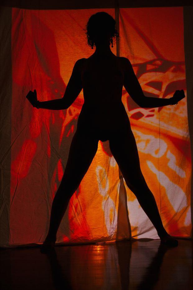 %E5%8A%9B silhouette artwork by photographer adero