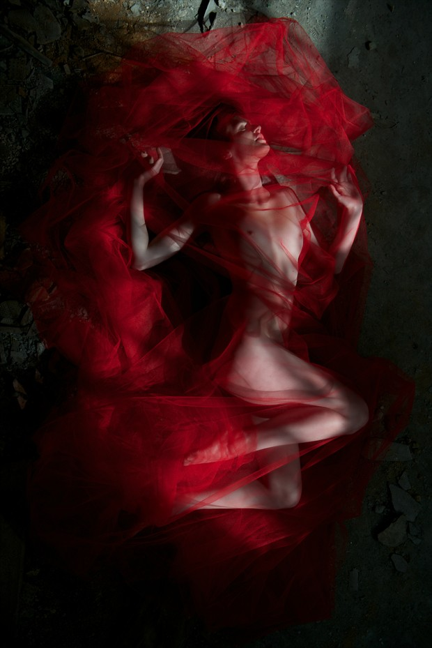'As I Lay Dying.' Artistic Nude Photo by Photographer RomanyWG