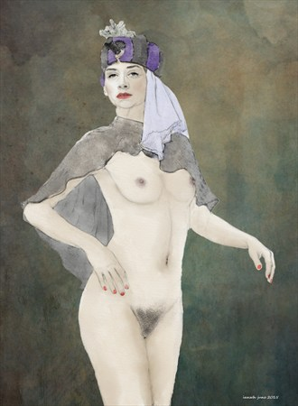 A right royal princess Artistic Nude Artwork by Artist ianwh