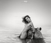 BATH HIPPO Artistic Nude Photo by Artist GonZaLo Villar