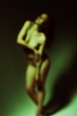 Dancing to a Abstract Beat Artistic Nude Photo by Photographer Mark Bigelow