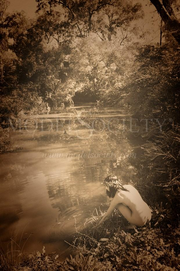 In A Tree By The Brook There's A Songbird Who Sings Artistic Nude Photo by Photographer Rowanmacs