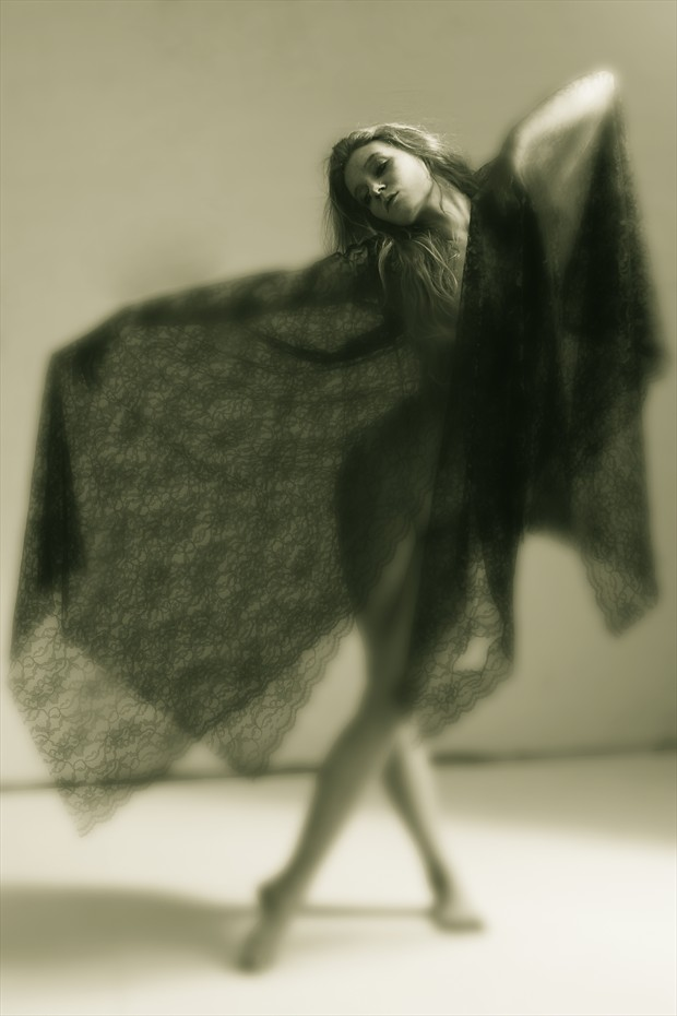 Warm Blur and Old Lace Artistic Nude Photo by Photographer Mark Bigelow