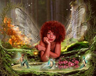 a fantay fairy tale fantasy artwork by artist karinclaessonart