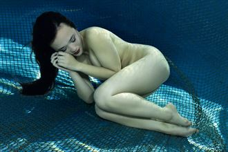 asleep in the deep artistic nude photo by photographer mstr
