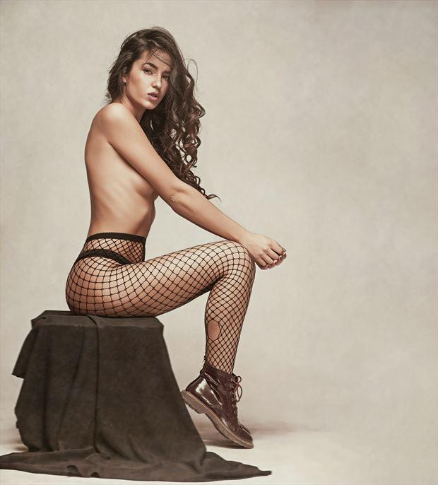 elegance artistic nude artwork by model pure jana