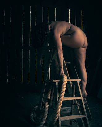 it all ties together in the end artistic nude photo by photographer michael virts