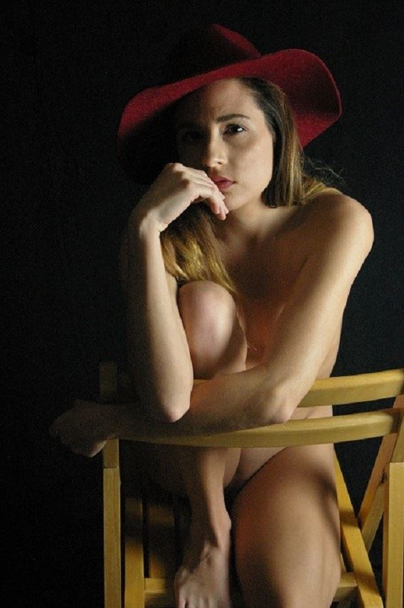 just my red hat implied nude photo by photographer evoleye arts
