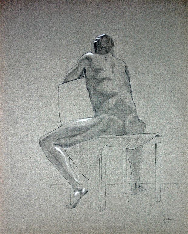 march afternoon artistic nude artwork by artist little sodus studio