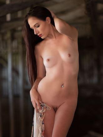 milking barn artistic nude photo by photographer bill lemon