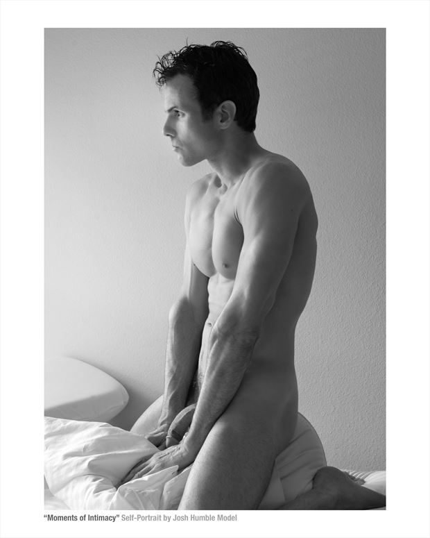 moments of intimacy male nude self portrait artistic nude photo by model josh