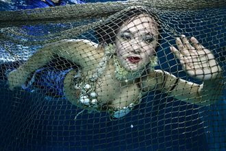 netting a mermaid fantasy photo by photographer mstr