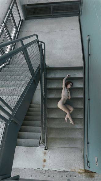parking garage artistic nude photo by photographer sirena wren