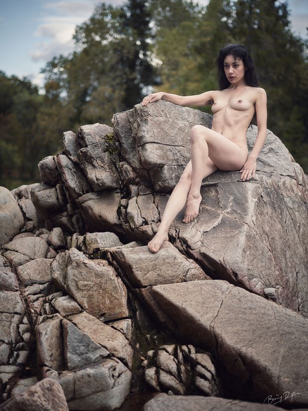 sovereign of nature artistic nude photo by model rebeccatun