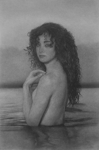 sultry distraction artistic nude artwork by artist legends by lund