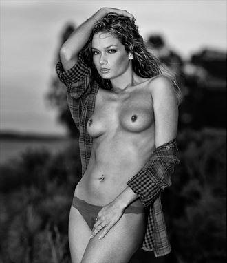 the plaid sensual photo by photographer bill lemon