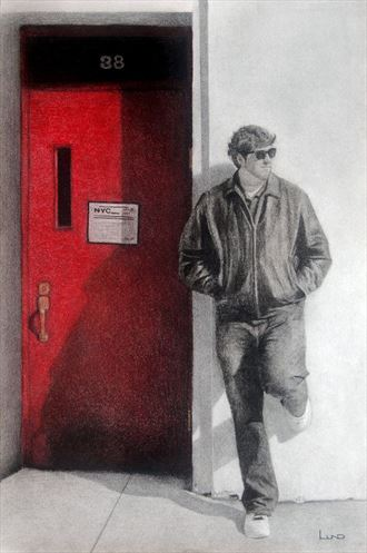 the red door natural light artwork by artist legends by lund