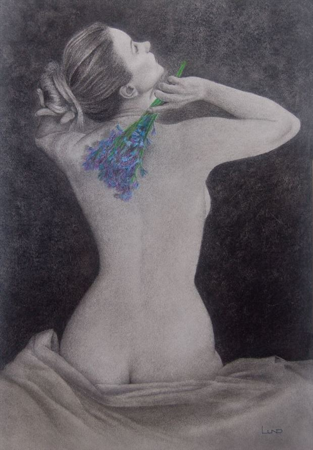 when the dawn was breaking artistic nude artwork by artist legends by lund