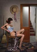...Pensando Artistic Nude Artwork by Artist Contesaia