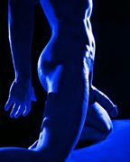 100 electric blues 39 artistic nude photo by model avid light