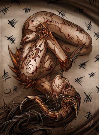 1000 sins fantasy artwork by artist david bollt