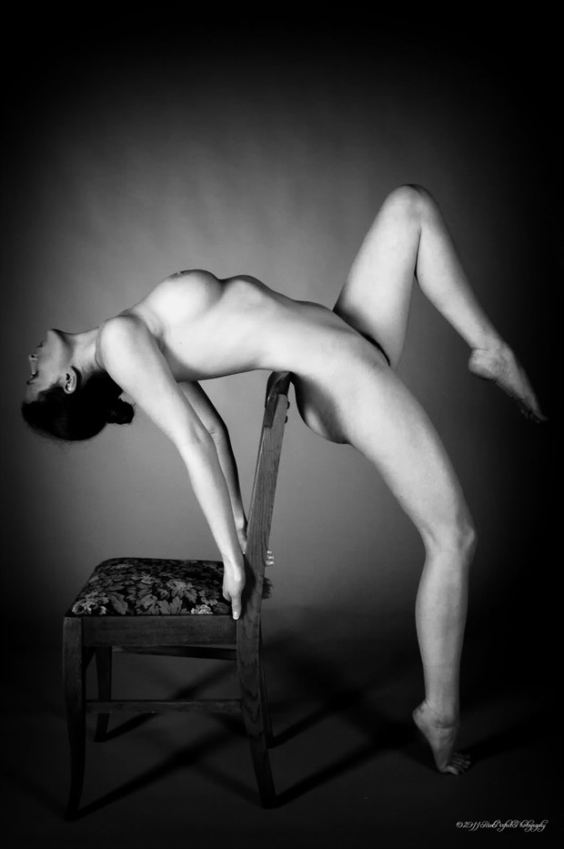 101 Ways to Use a Chair Artistic Nude Photo by Model Mila