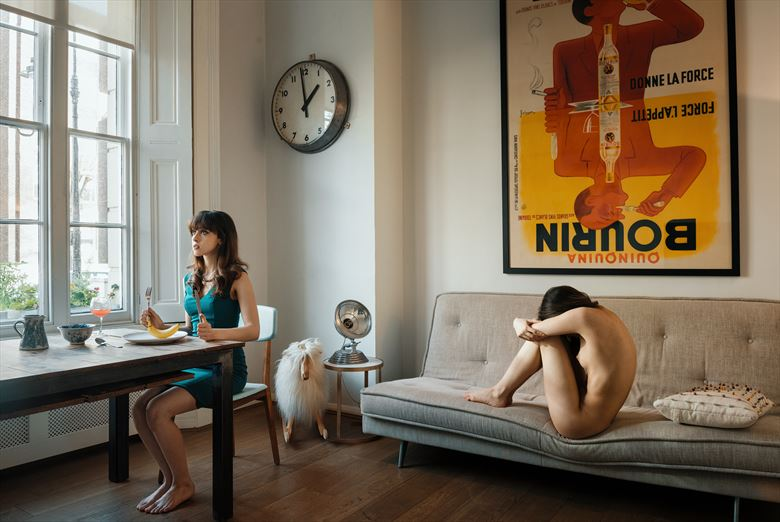 2 pm artistic nude photo by photographer ellis