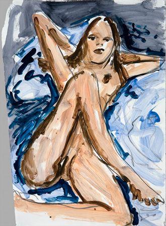 2008 jonathan herbert artistic nude artwork by model sunken owl