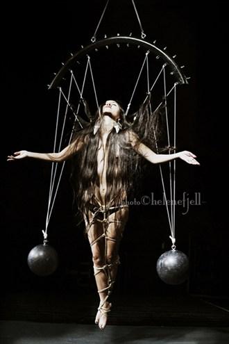 2013 Helene Fjell Artistic Nude Artwork by Model Book of Luna