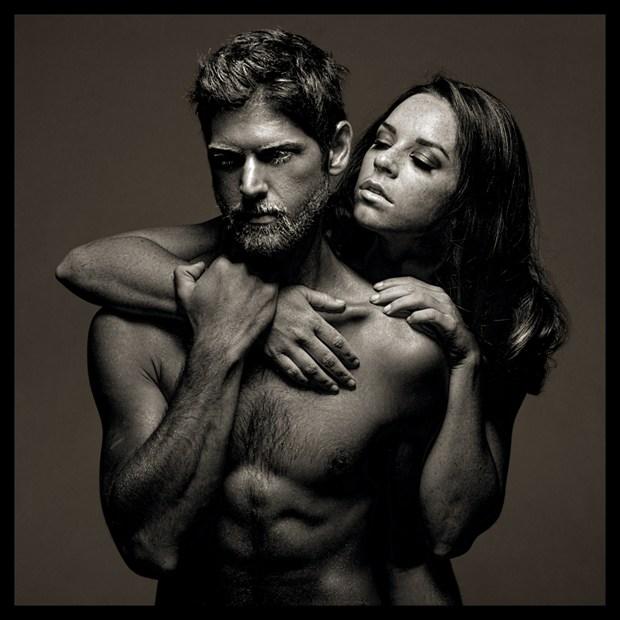 2015 Shawna And Walter, Studio Portrait, Costa Mesa, CA Artistic Nude Photo by Photographer R. Michael Walker