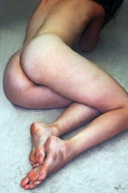 32 Hues Artistic Nude Artwork by Artist Van Evan Fuller