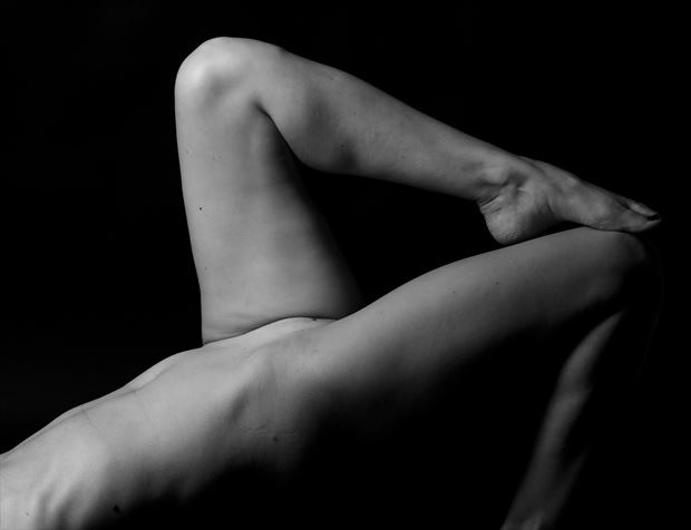 4 is her number artistic nude photo by photographer thomas branch