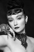 40's Glamour Styling and Light Portrait Artwork by Photographer Tranquility Base