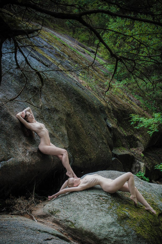 40 acre rock figure study artistic nude photo by photographer photowyse