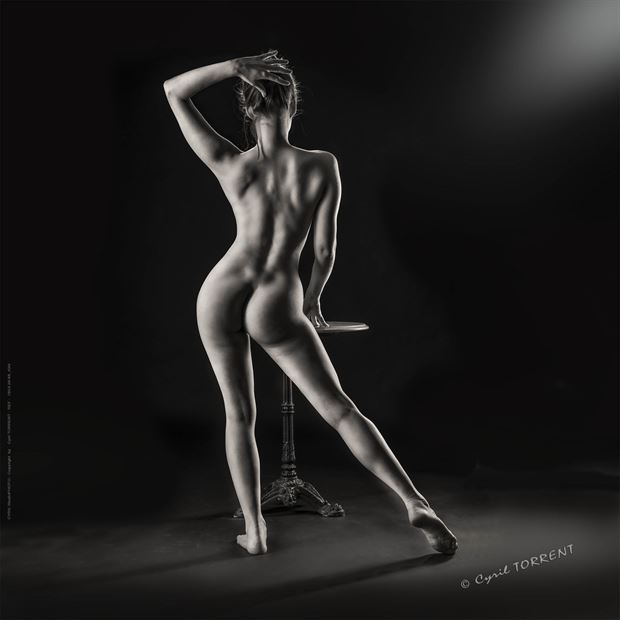 68 kim artistic nude artwork by photographer cyril torrent